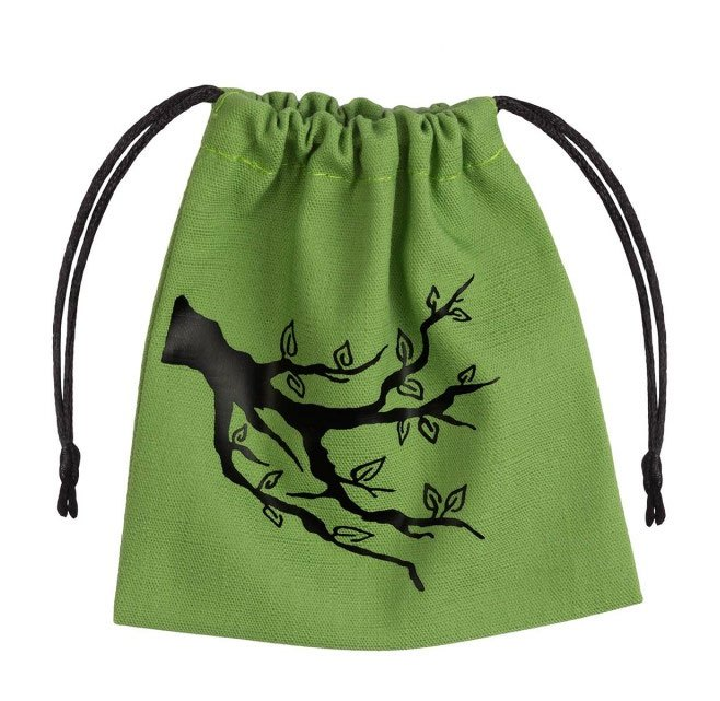 Ent Dice Bag green & black