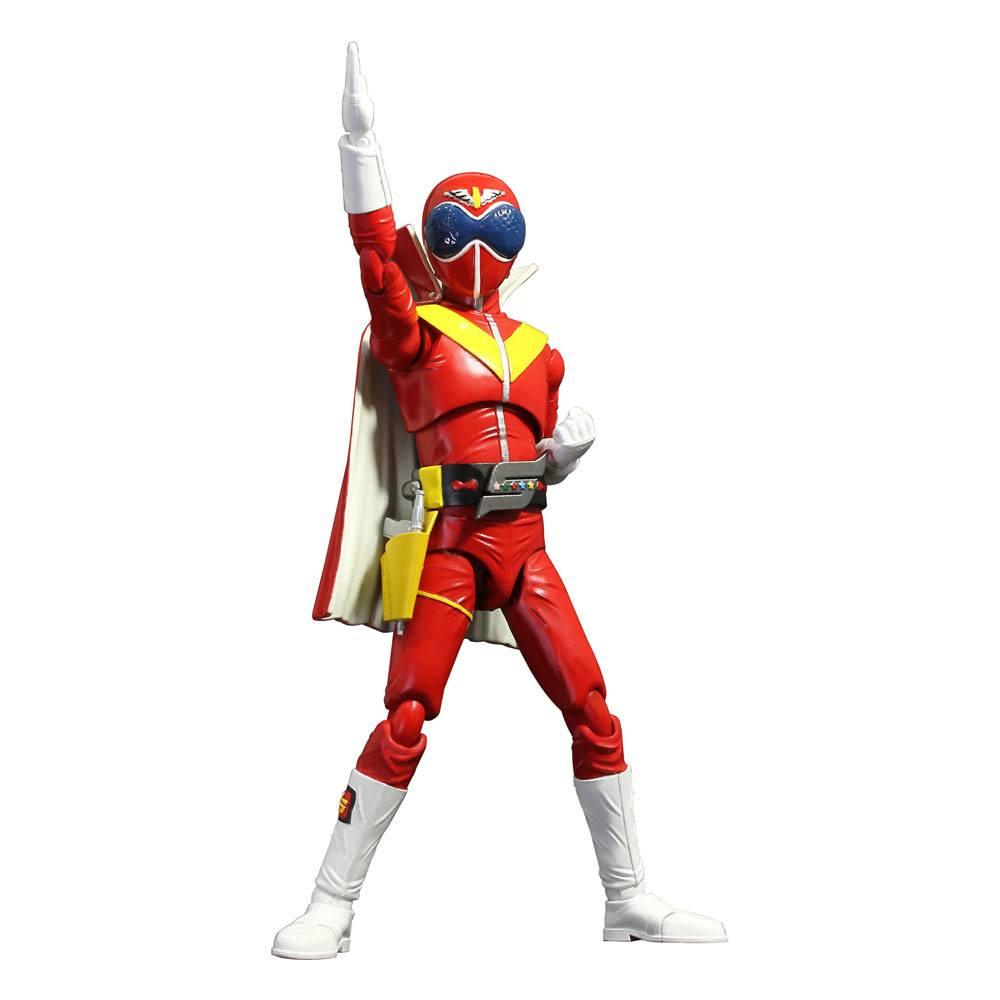 Himitsu Sentai Gorenger Hero Action Figure Akaranger 17 cm