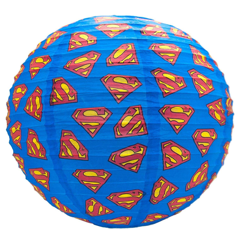 DC Comics Paper Light Shade Superman Logos 30 cm