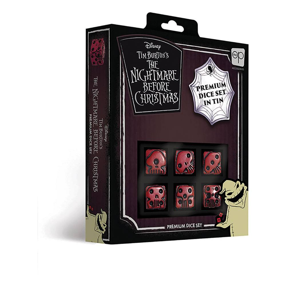 Nightmare before Christmas Premium Dice Set 6D6 (6)