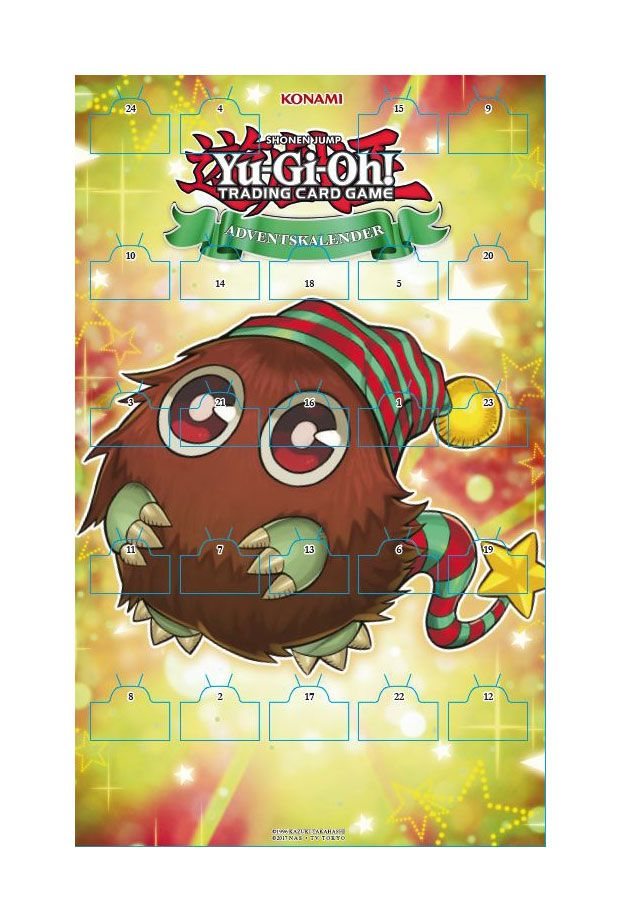 Yu-Gi-Oh! TCG Advent Calendar 2019 *German Version*