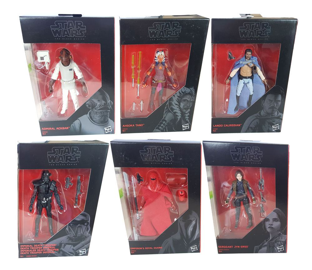 Star Wars Black Series Action Figures 10 cm 2016 Wave 3 Assortment (12)