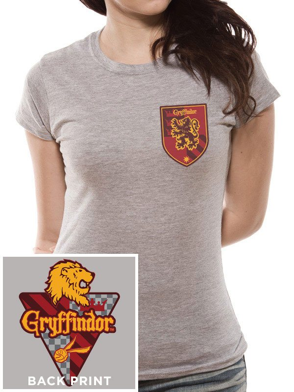 Harry Potter Ladies T-Shirt House Gryffindor Size S