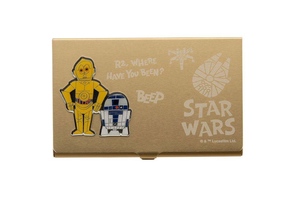 Star Wars Business Card Holder C-3PO & R2-D2 10 cm