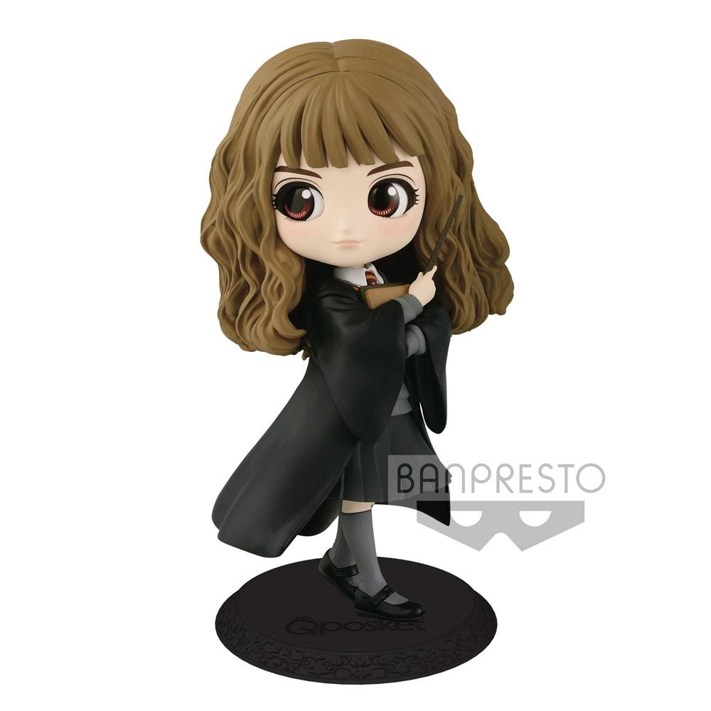 Harry Potter Q Posket Mini Figure Hermione Granger A Normal Color Version 14 cm