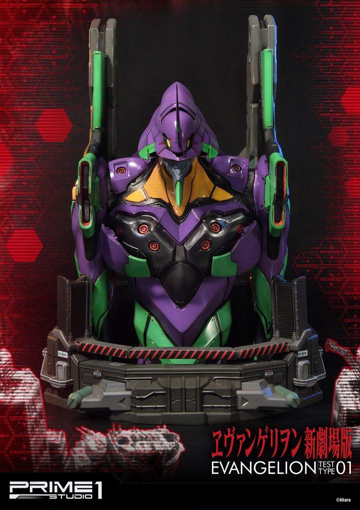 Neon Genesis Evangelion Premium Bust EVA Test Type-01 34 cm