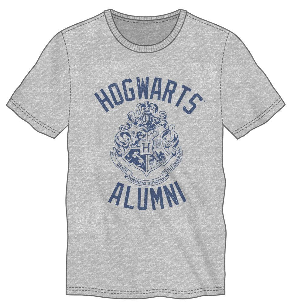 Harry Potter T-Shirt Hogwarts Alumni Size L