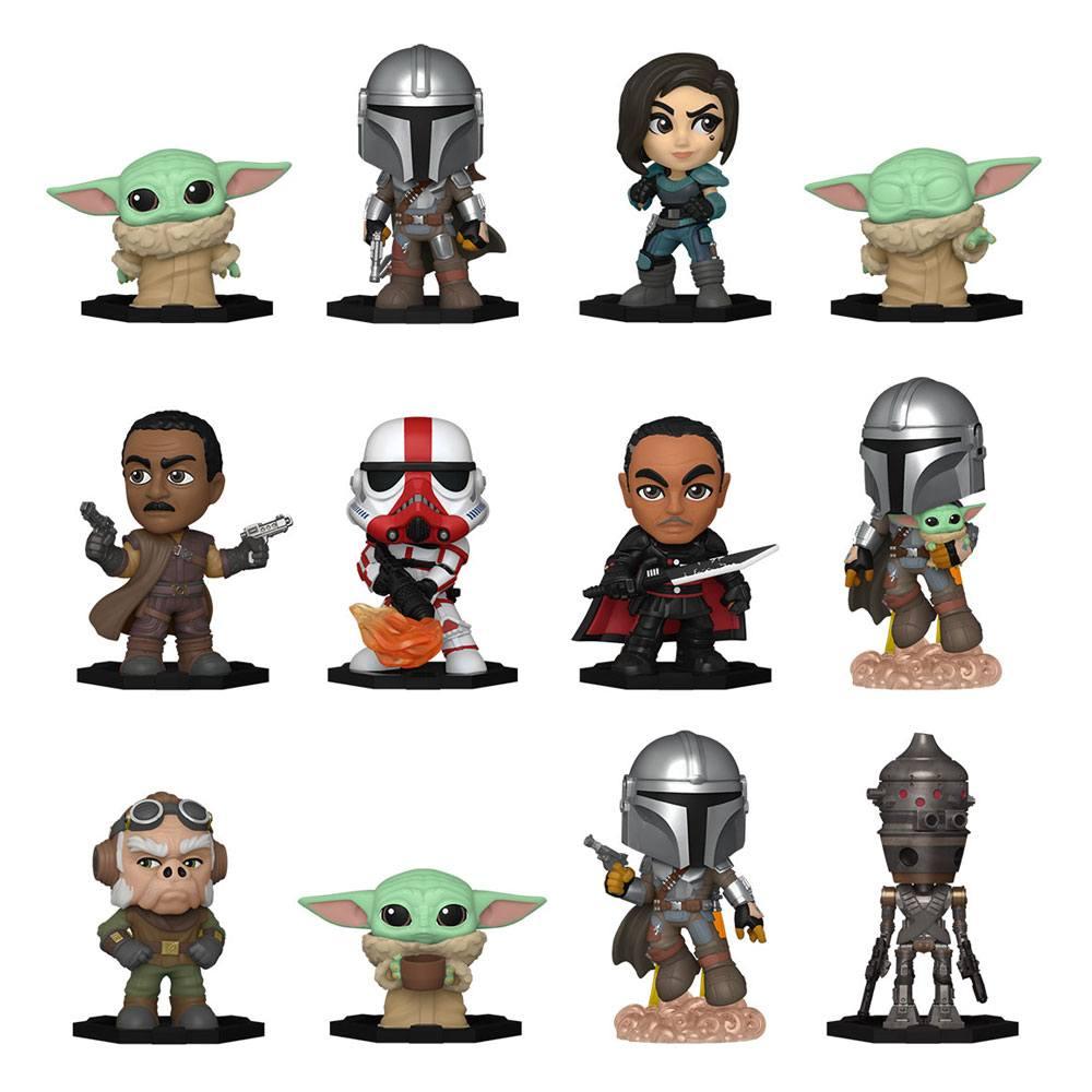 Star Wars: The Mandalorian Mystery Mini Figures 5 cm Display S1 (12)