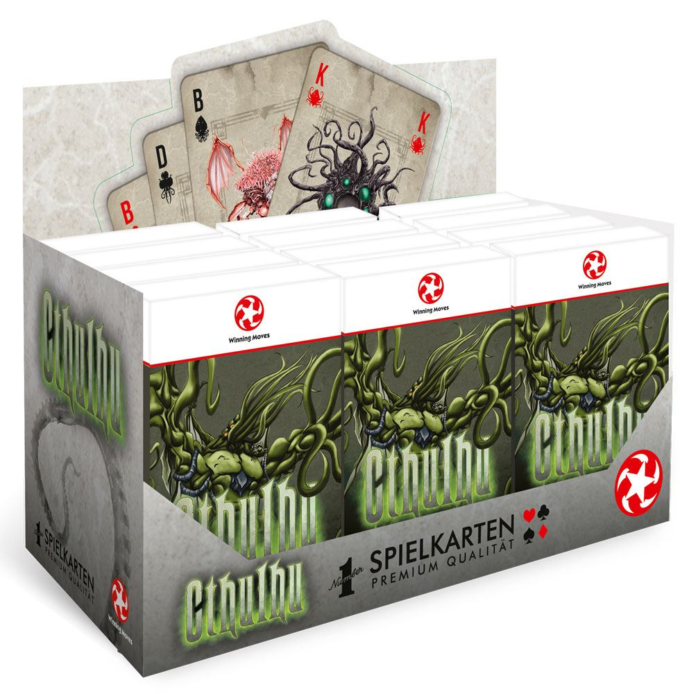 Cthulhu Number 1 Playing Cards Display (12) *German Version*