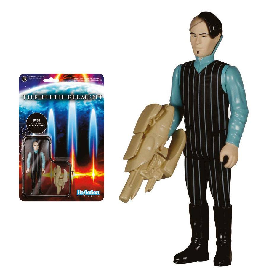 Fifth Element ReAction Action Figure Zorg 10 cm
