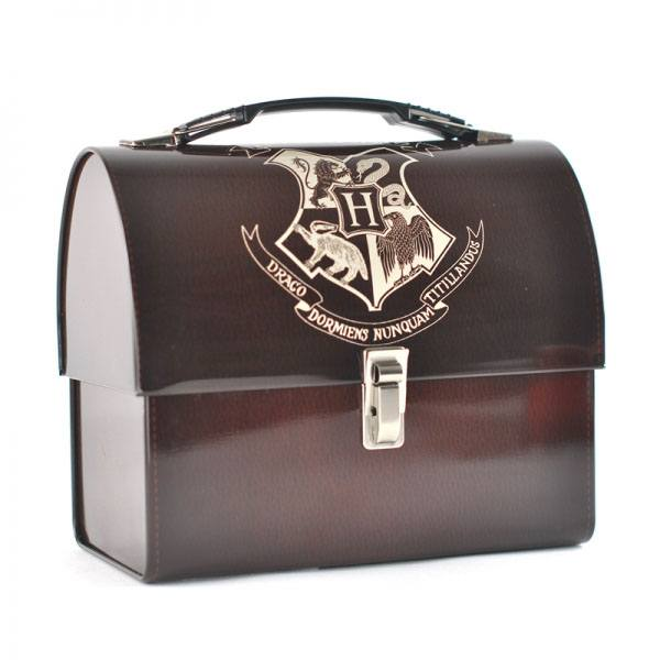 Harry Potter Tin Tote Hogwarts Crest
