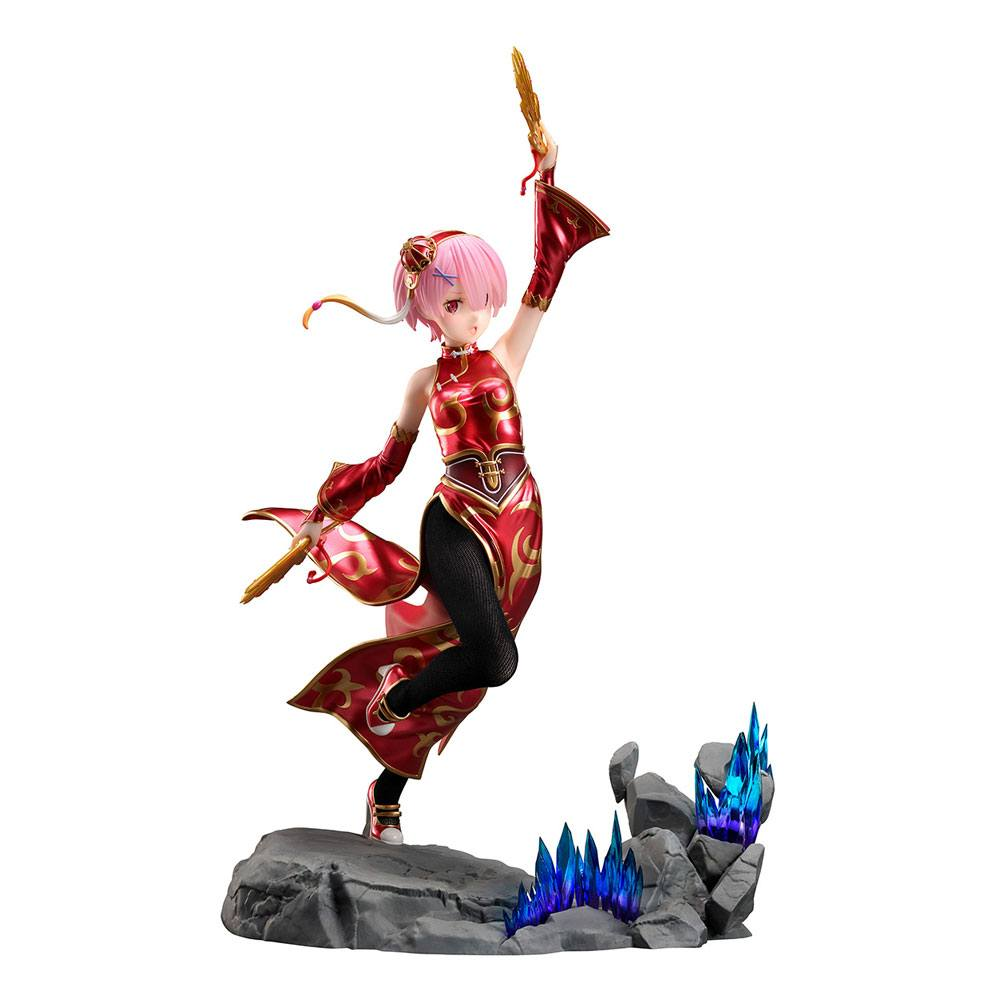 Re:ZERO - Starting Life in Another World PVC Statue 1/7 Ram China Dress Ver. 23 cm
