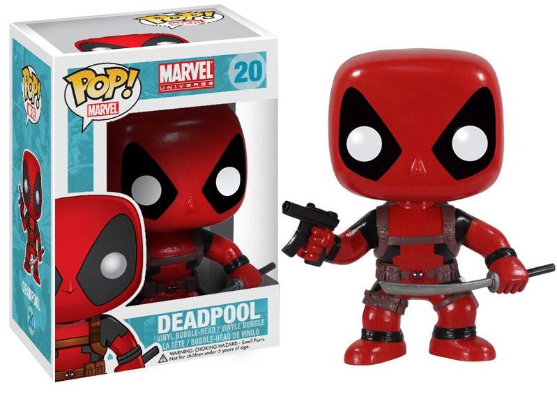 Marvel Comics POP! Vinyl Bobble-Head Deadpool 10 cm