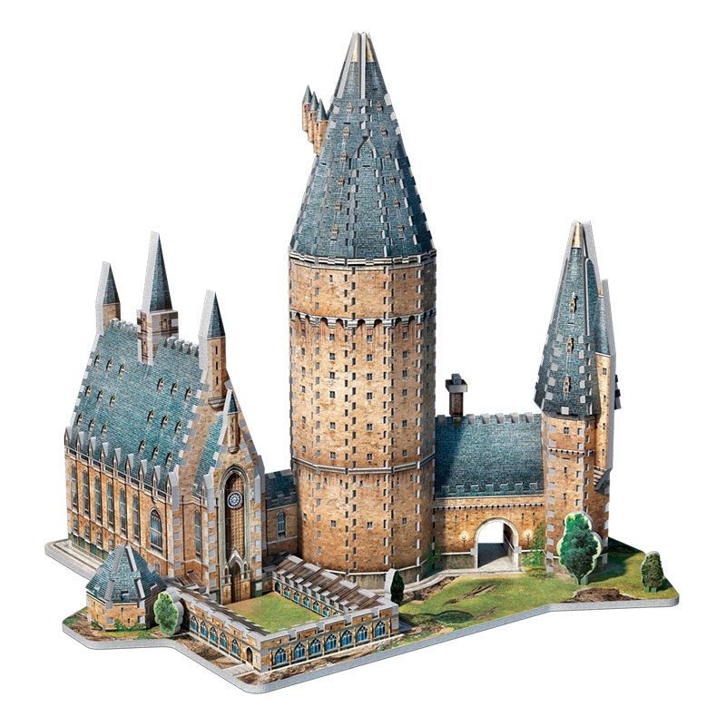 Harry Potter 3D Puzzle Great Hall --- DAMAGED PACKAGING
