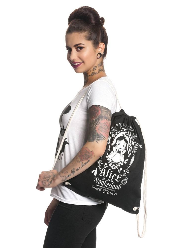 Alice in Wonderland Gym Bag Mirror