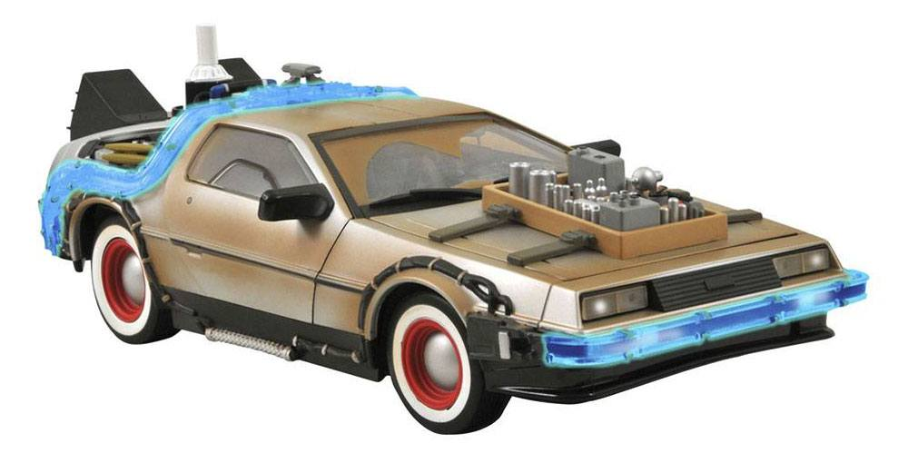 Back to the Future III Model DeLorean 36 cm - ITEM WITH DEAD BATTERIES