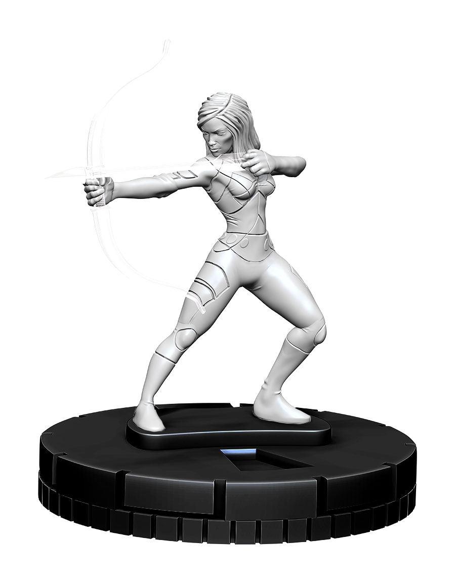 Marvel HeroClix Deep Cuts Unpainted Miniature Psylocke Case (4)