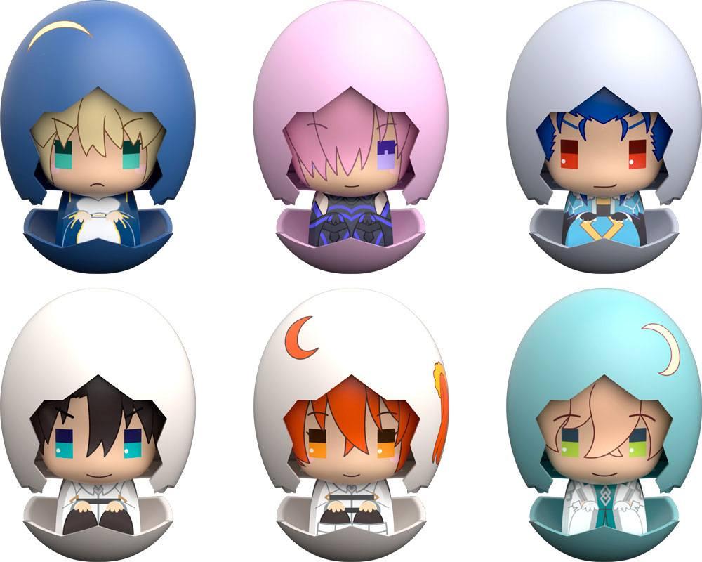 Fate/Grand Order Piyokuru Mini Figures 6 cm Assortment Fate/Grand Order 01 (6)