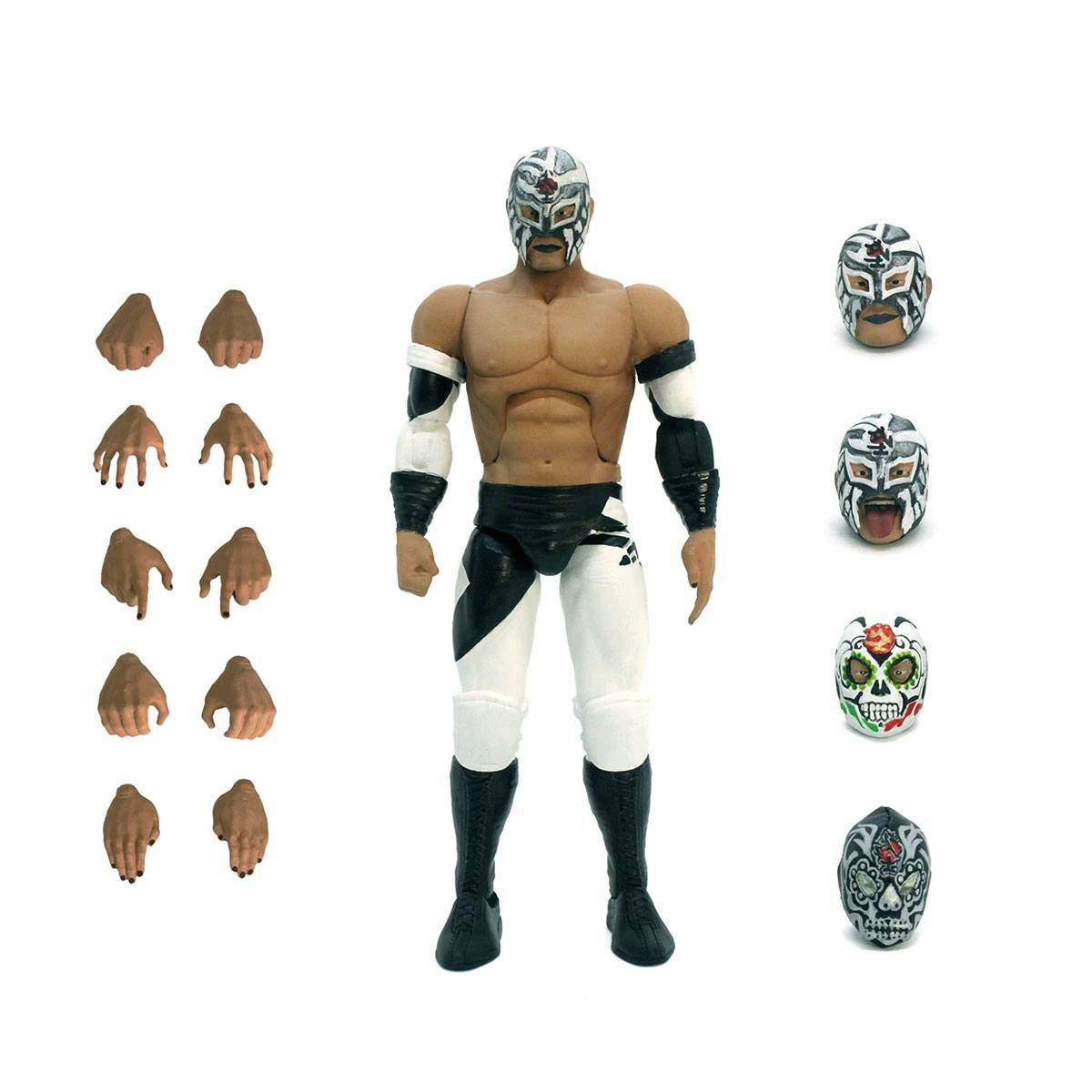 New Japan Pro-Wrestling Ultimates Action Figure Wave 2 Bushi 18 cm