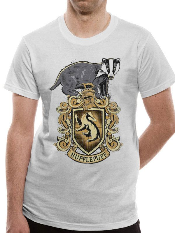 Harry Potter T-Shirt Hufflepuff Size L