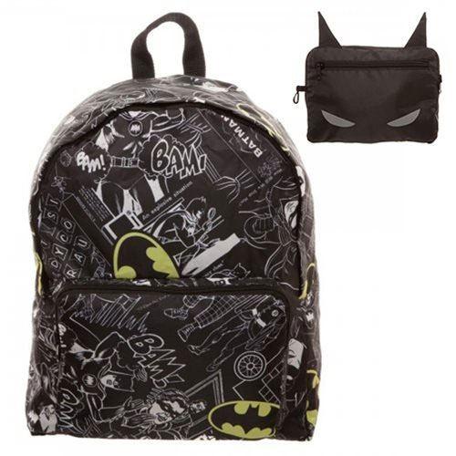 DC Comics Backpack Batman Logo Print All Over