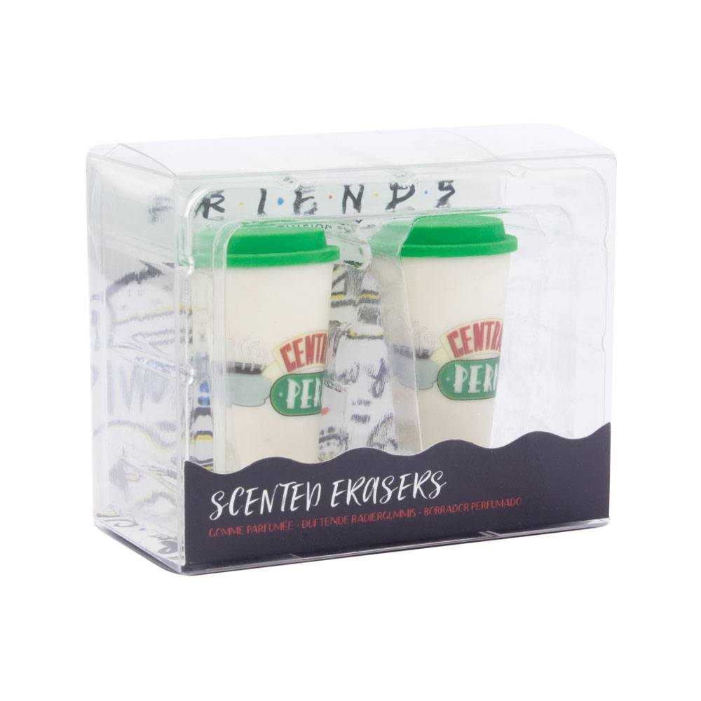 Friends Scented Erasers 2-Pack Central Perk Coffee