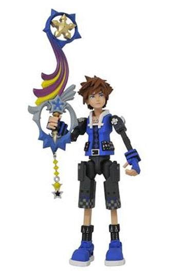 Kingdom Hearts 3 Action Figure Wisdom Form Toy Story Sora 18 cm