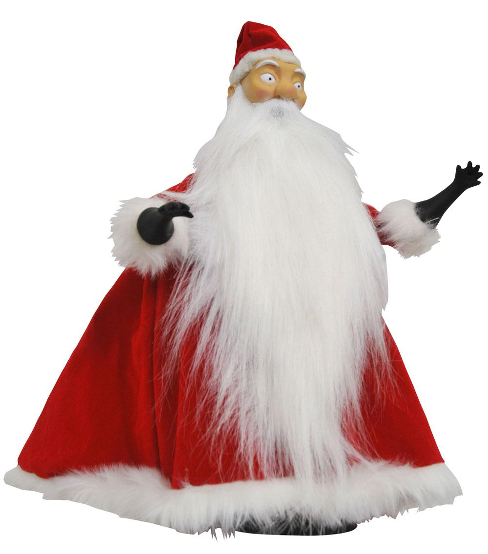 Nightmare before Christmas Doll Santa Claus 25 cm --- DAMAGED PACKAGING