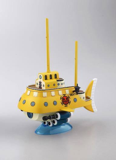 One Piece Grand Ship Collection Plastic Model Kit Trafalgar Law's Submarine 15 cm