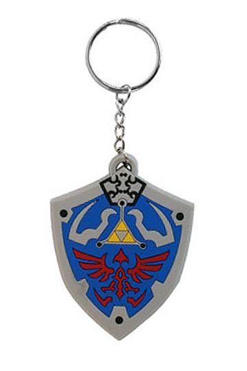 The Legend of Zelda Rubber Keychain Hyrulian Crest 7 cm