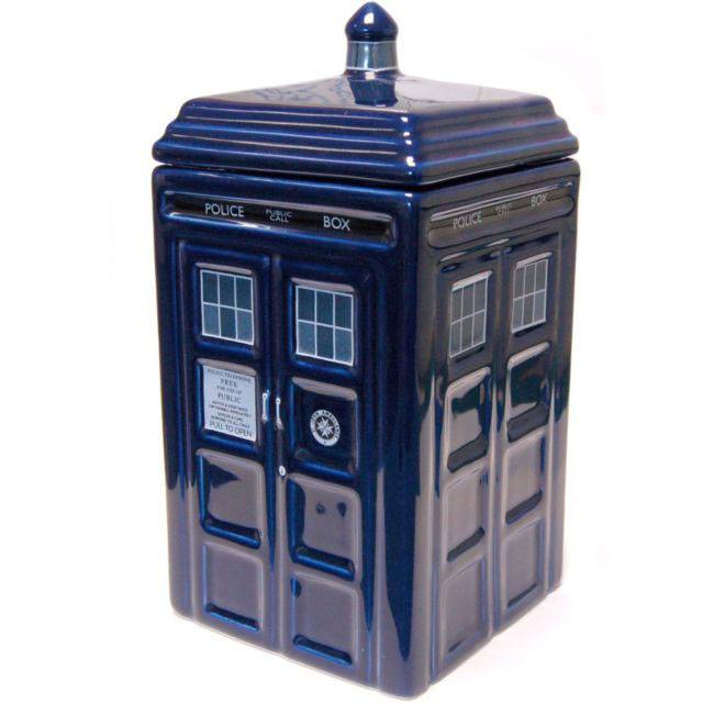 Doctor Who Cookie Jar Tardis --- DAMAGED PACKAGING