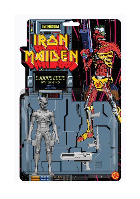 Iron Maiden FigBiz Action Figure Cyborg Eddie 13 cm