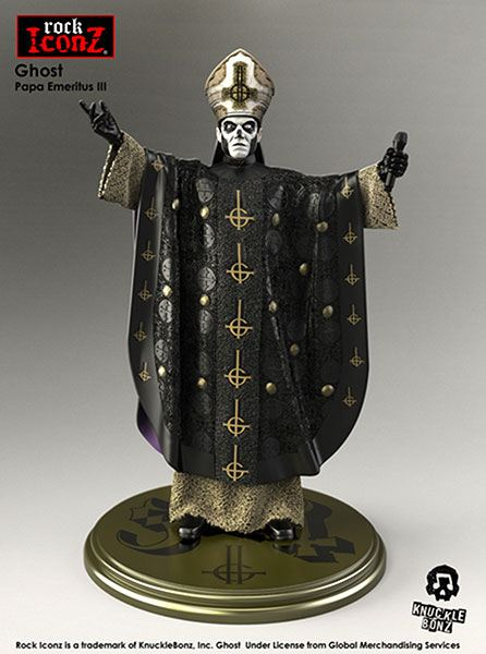 Ghost Papa Rock Iconz Statue 22 cm