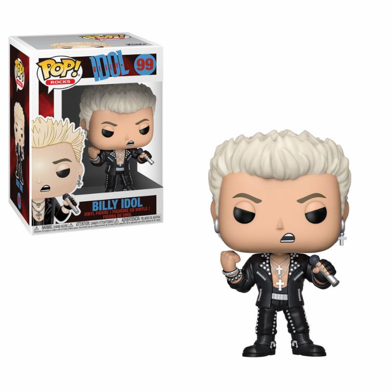 Billy Idol POP! Rocks Vinyl Figure Billy Idol 9 cm