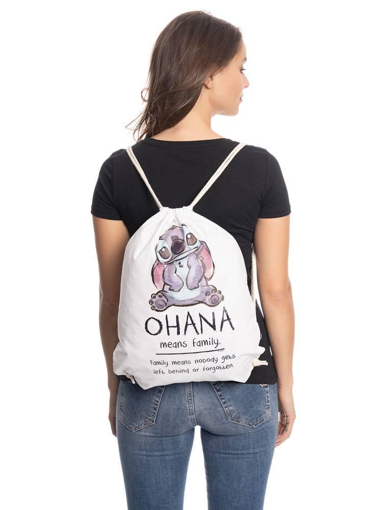 Lilo & Stitch Gym Bag Ohana Means Family