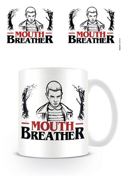 Stranger Things Mug Mouth Breather