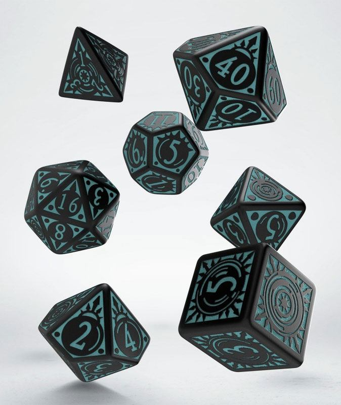 Pathfinder Dice Set Iron Gods (7)