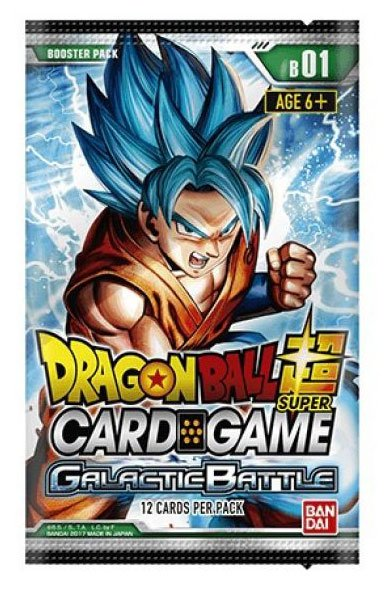 Dragonball Super Card Game Season 1 Booster Display Galactic Battle (24) *English Version*
