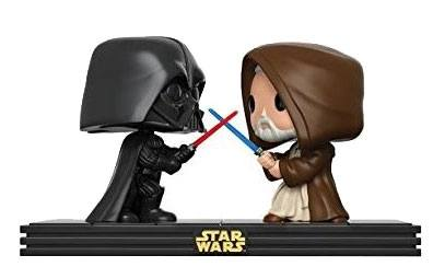 Star Wars POP! Movie Moments Vinyl Bobble-Head 2-Pack Death Star Duel 9 cm