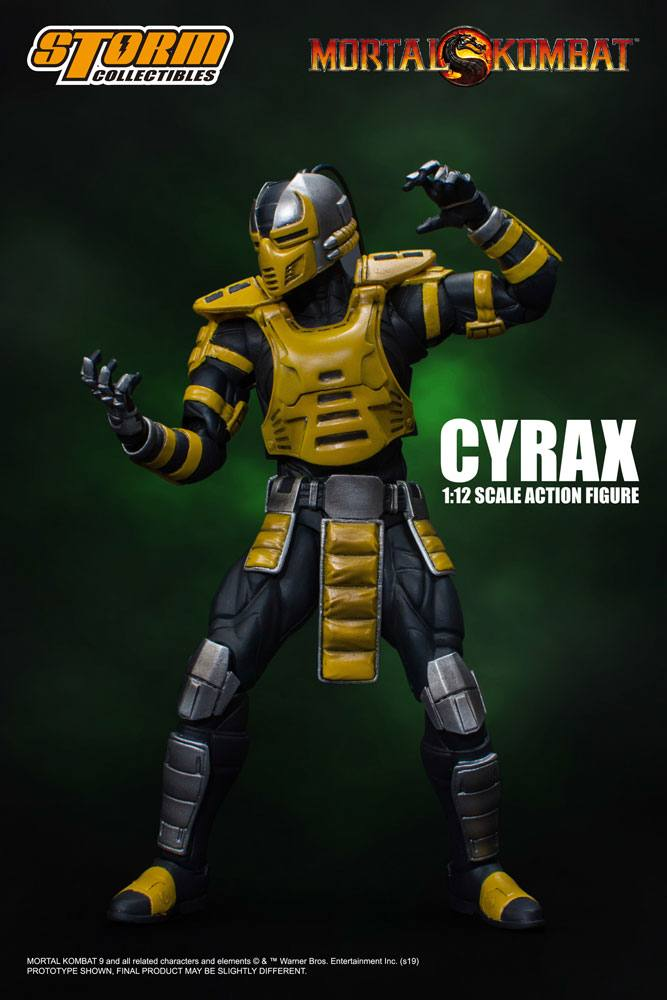 Mortal Kombat Action Figure 1/12 Cyrax 18 cm