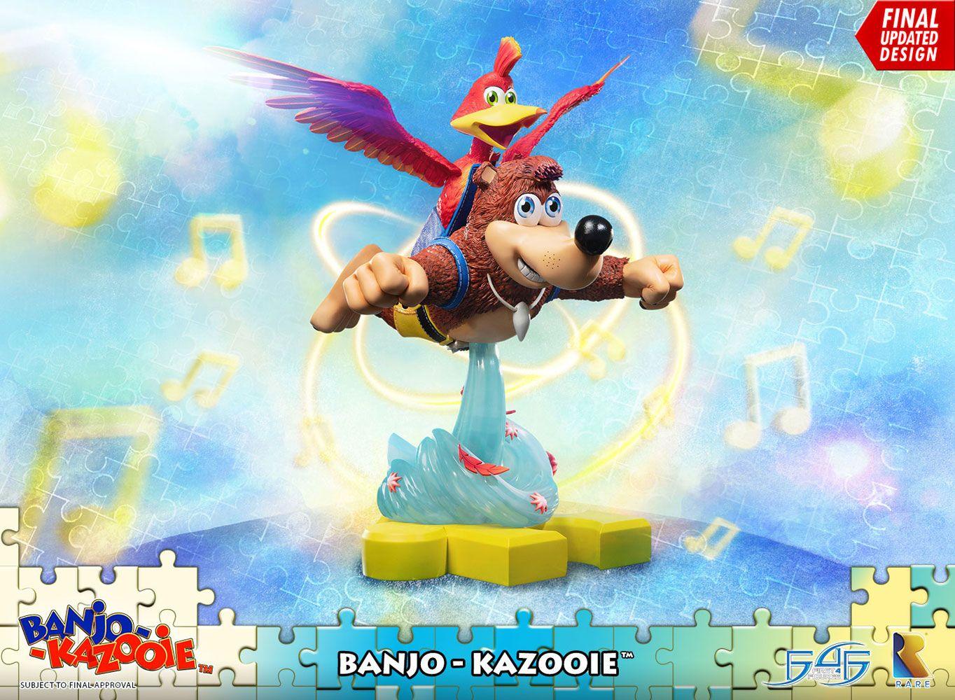 Banjo-Kazooie Statue Banjo & Kazooie 51 cm