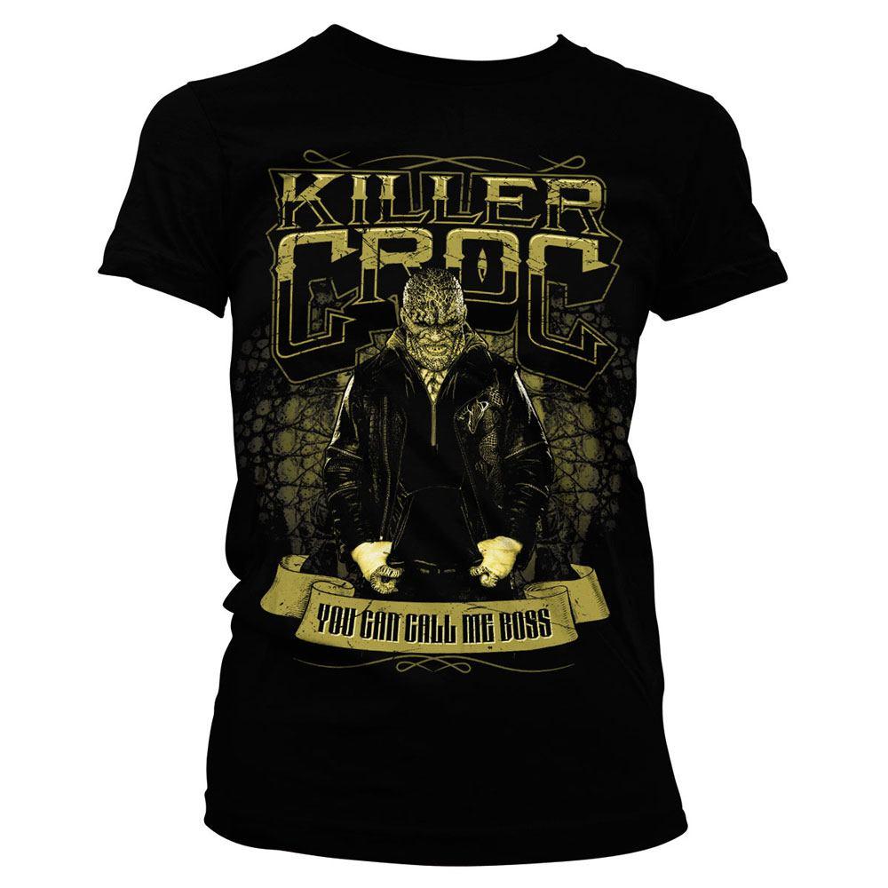 Suicide Squad Ladies T-Shirt Killer Croc Size L