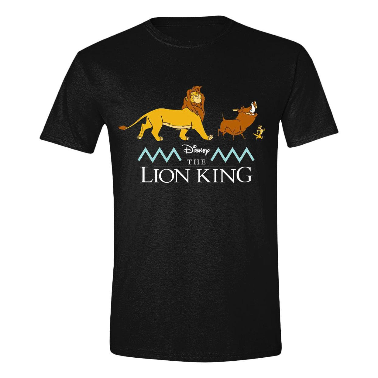 The Lion King T-Shirt Logo & Characters Size M