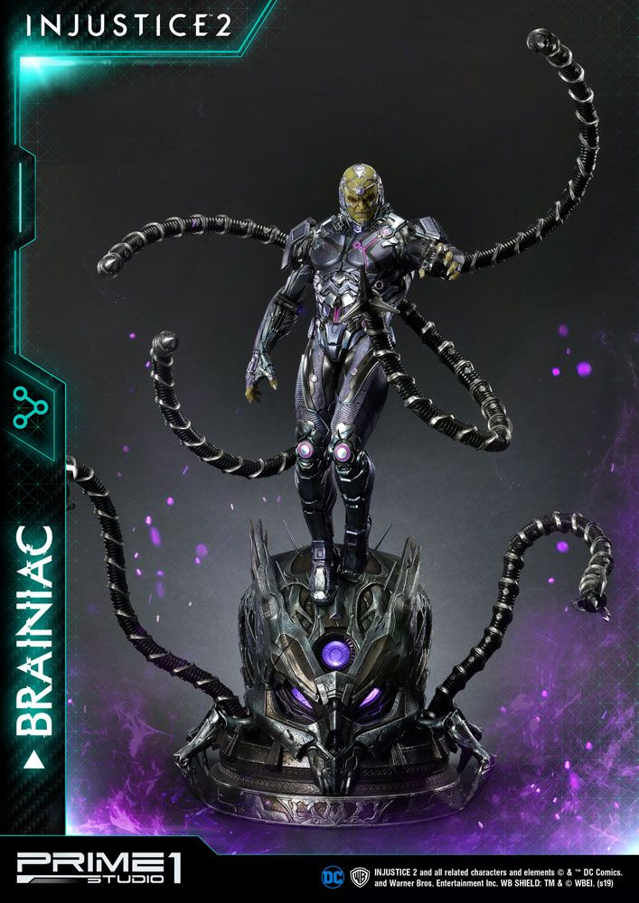 Injustice 2 Statue 1/4 Brainiac 75 cm