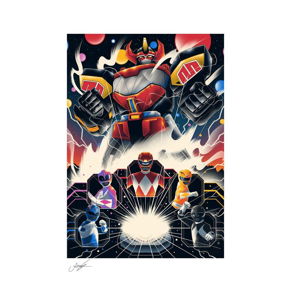 Power Rangers Art Print Mighty Morphin Power Rangers! 46 x 61 cm - unframed