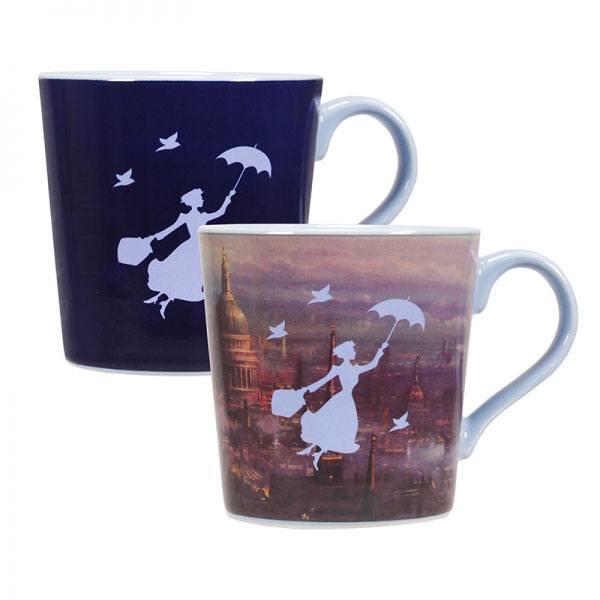 Mary Poppins Heat Change Mug London