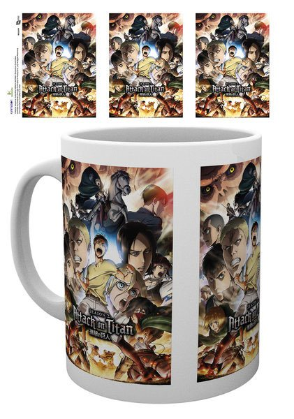 Attack on Titan Season 2 Mug Collage Key Art