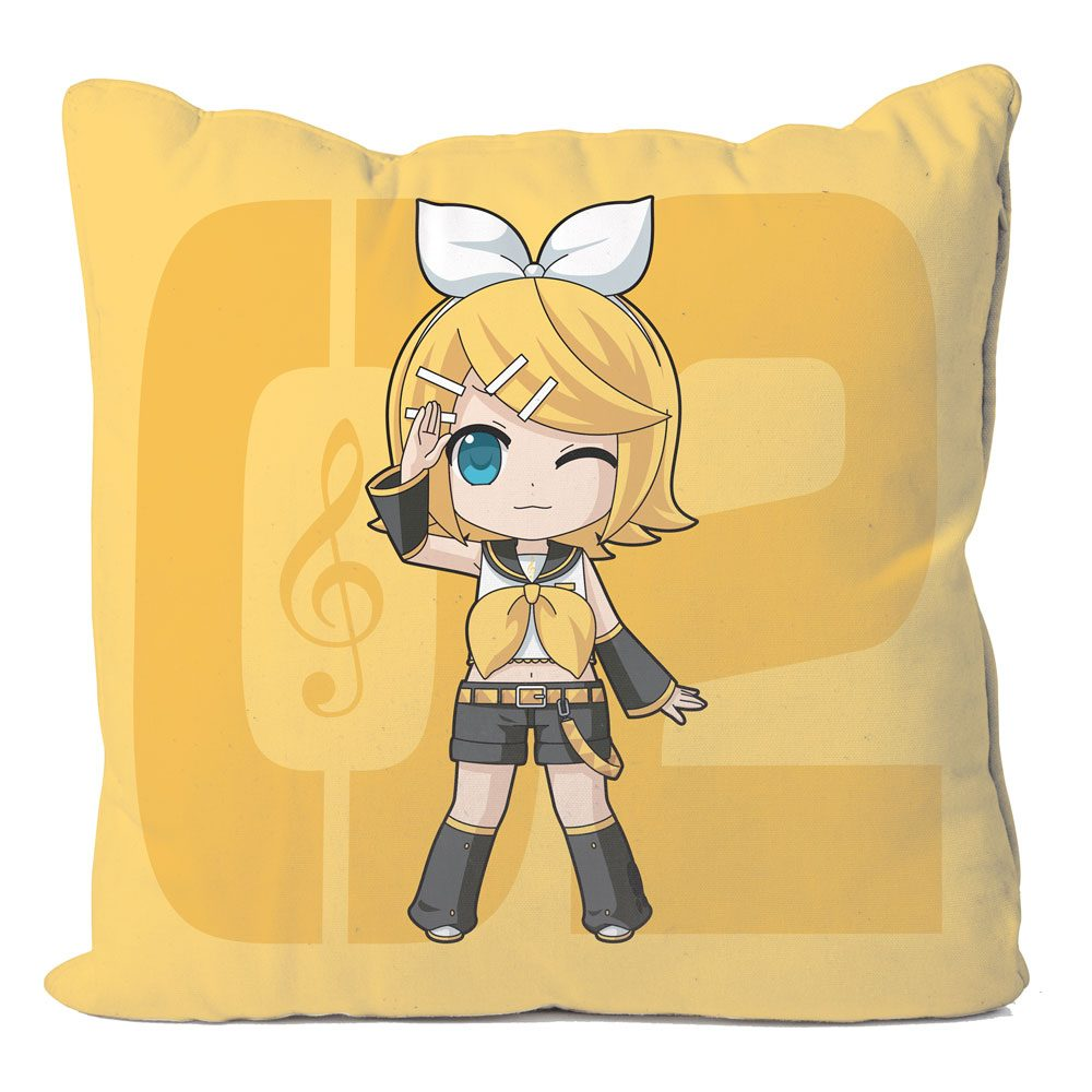 Vocaloid Pillow Case Kagamine Rin 50 x 50 cm
