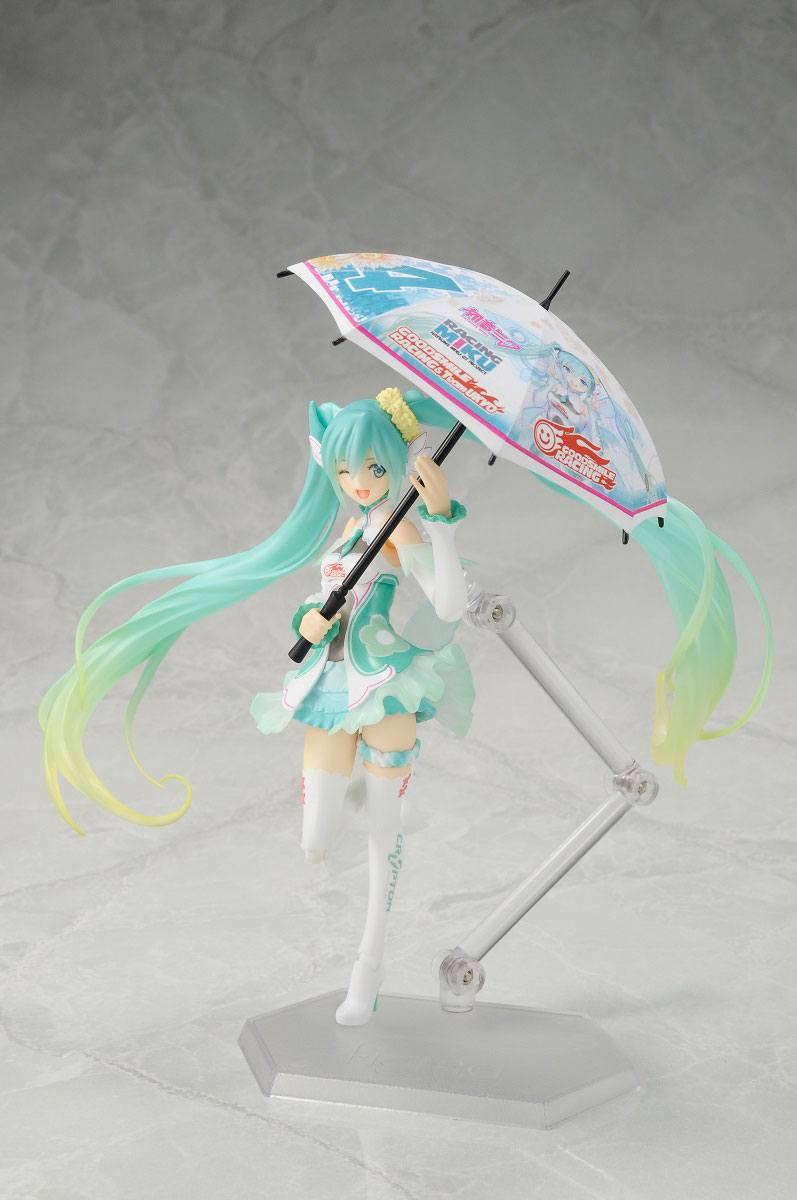 Racing Miku Figma Action Figure Racing Miku 2017 Ver. Special Edition 14 cm
