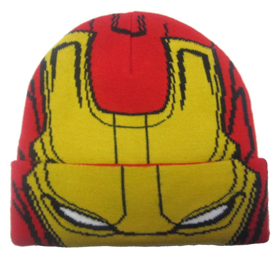 Marvel Comics Kids Beanie Iron Man